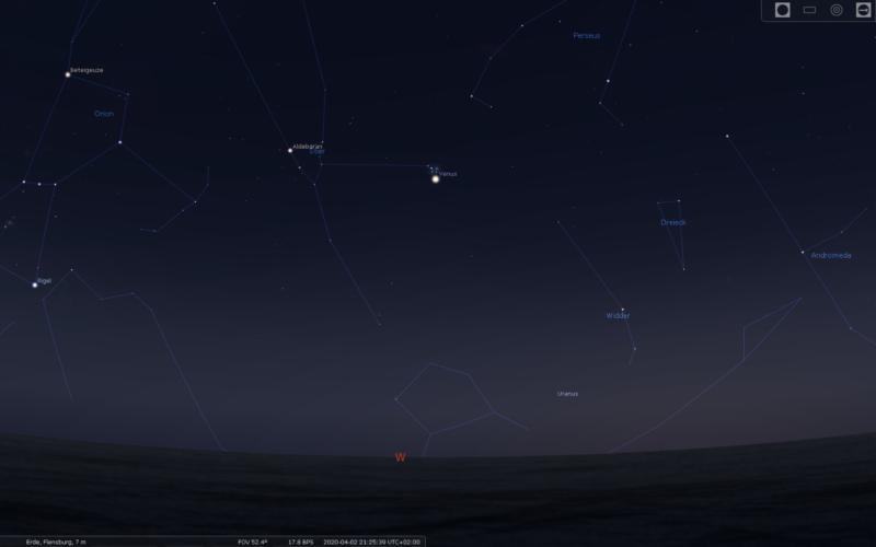 Beobachtungs-Tipp: Venus passiert die Plejaden in der Zeit vom 2. bis 4.April!