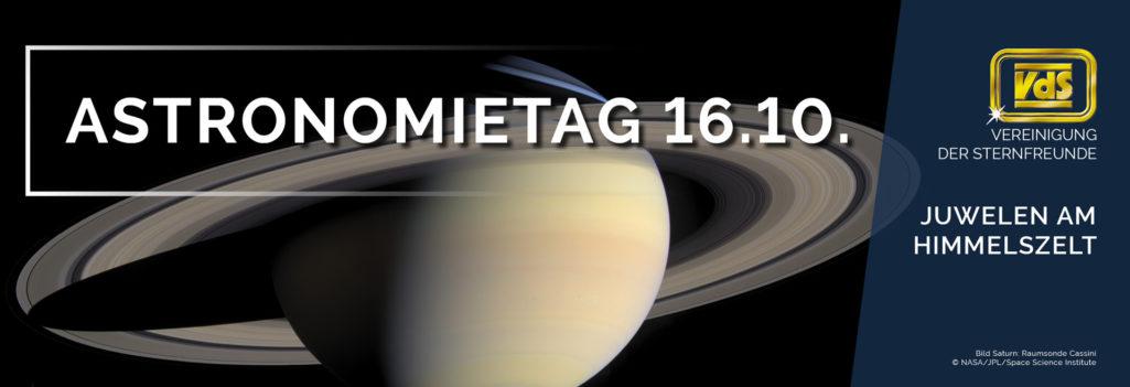 Astronomietag am 16. Oktober